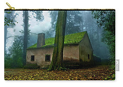 Carry-all Pouch featuring the photograph Haunted House by Jorge Maia