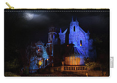 Haunted Mansion At Walt Disney World Carry-all Pouch by Mark Andrew Thomas