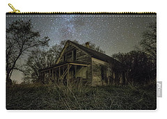 Carry-all Pouch featuring the photograph Haunted Memories by Aaron J Groen