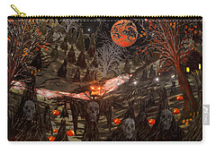 Haunted Pumpkin Patch Carry-all Pouch