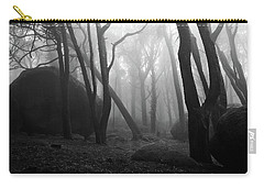 Carry-all Pouch featuring the photograph Haunted Woods by Jorge Maia