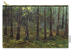 Haunting The Past Carry-all Pouch