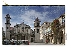 Havana Cathedral. Cuba Carry-all Pouch