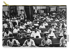Havana Cuba - Cigars Being Rolled - C 1903 Carry-all Pouch