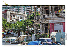 Carry-all Pouch featuring the photograph Havana Cuba by Charles Harden