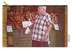 Carry-all Pouch featuring the photograph Havana Cuba Corner Market by Joan Carroll