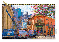 Havana In Bloom Carry-all Pouch by Les Palenik