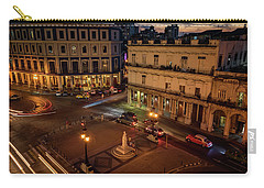 Carry-all Pouch featuring the photograph Havana Nights by Joan Carroll