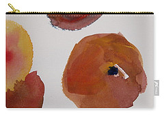 Carry-all Pouch featuring the painting Have A Peach by Nancy Kane Chapman