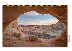 Carry-all Pouch featuring the photograph Haven by Dustin LeFevre
