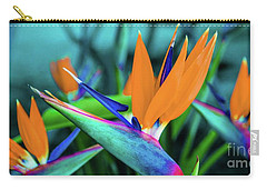 Hawaii Bird Of Paradise Flowers Carry-all Pouch