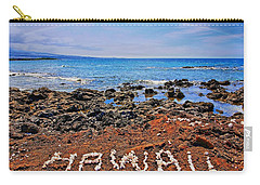 Carry-all Pouch featuring the photograph Hawaii by DJ Florek