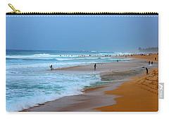 Hawaii - Sunset Beach Carry-all Pouch by Michael Rucker