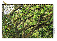 Hawaii Tree-bard Carry-all Pouch