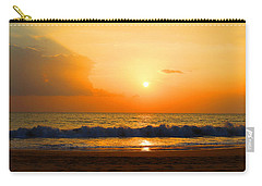 Carry-all Pouch featuring the photograph Hawaiian Beach by Michael Rucker