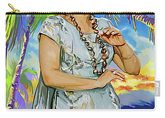 Hawaiian Dance Carry-all Pouch