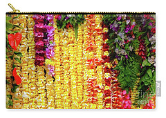 Hawaiian Flower Lei's Carry-all Pouch