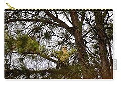 Carry-all Pouch featuring the photograph Hawaiian Hawk by Lehua Pekelo-Stearns