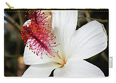 Carry-all Pouch featuring the photograph Hawaiian Hibiscus  by Joann Copeland-Paul