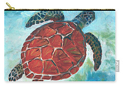 Hawaiian Honu Carry-all Pouch