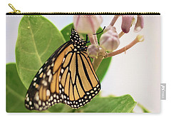Carry-all Pouch featuring the photograph Hawaiian Monarch by Heather Applegate