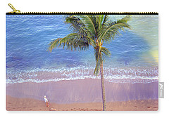 Carry-all Pouch featuring the photograph Hawaiian Morning by Kathy Bassett