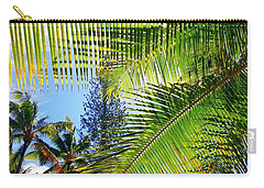 Hawaiian Palm Carry-all Pouch