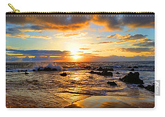 Hawaiian Paradise Carry-all Pouch by Michael Rucker