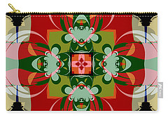 Hawaiian Quilt 22 Carry-all Pouch