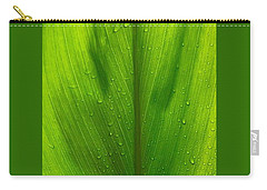 Carry-all Pouch featuring the photograph Hawaiian Ti Plant by Lehua Pekelo-Stearns