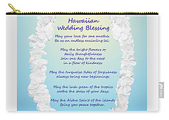 Hawaiian Wedding Blessing Carry-all Pouch