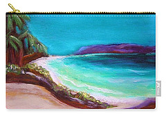 Hawaiin Blue Carry-all Pouch by Patricia Piffath