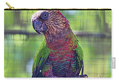 Hawk-headed Parrot Carry-all Pouch