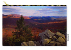 Carry-all Pouch featuring the photograph Hawk Mountain Pennsylvania by David Dehner