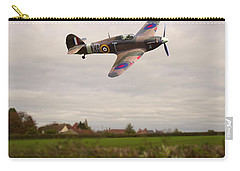 Carry-all Pouch featuring the photograph Hawker Hurricane -1 by Paul Gulliver