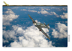 Carry-all Pouch featuring the photograph Hawker Hurricane IIb Of 174 Squadron by Gary Eason