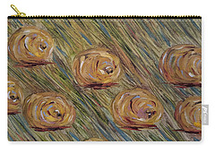 Carry-all Pouch featuring the painting Hay Bales by Judith Rhue