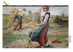 Hay Field Workers Carry-all Pouch