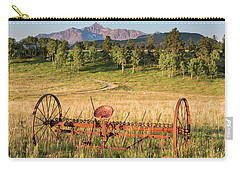 Hay Rake In Morning Sun Carry-all Pouch