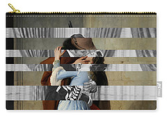 Hayes's The Kiss And Vivien Leigh With Clark Gable Carry-all Pouch by Luigi Tarini