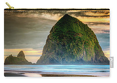 Haystack At Sunset Carry-all Pouch
