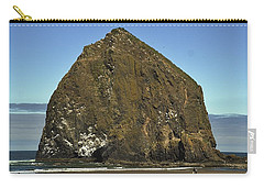 Haystack Rock, Cannon Beach, Or Carry-all Pouch