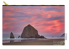 Haystack Rock- First Light Carry-all Pouch