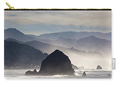Haystack Rock On The Oregon Coast In Cannon Beach Carry-all Pouch