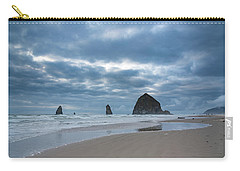 Haystack Rock, The Needles, And Cannon Beach Carry-all Pouch
