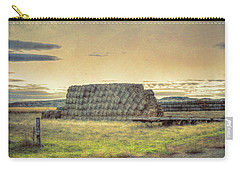 Haystacks And Badlands Carry-all Pouch by Aliceann Carlton