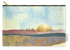Hazy Afternoon Carry-all Pouch by Katherine Smit