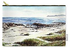 Hazy Coastline Carry-all Pouch by Heidi Kriel