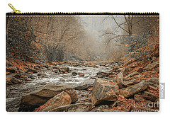 Hazy Mountain Stream #2 Carry-all Pouch