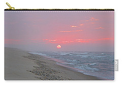 Carry-all Pouch featuring the photograph Hazy Sunrise by  Newwwman